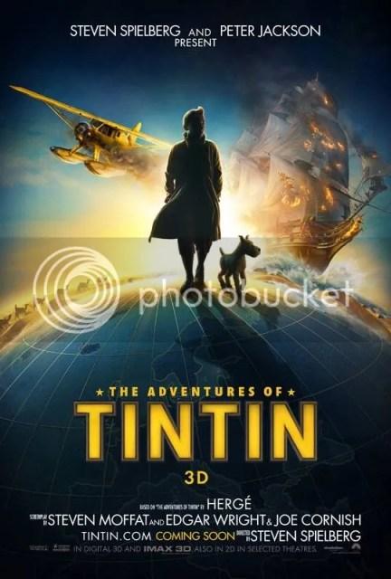 Tintin, Secret of the Unicorn, 3D, Milo, Secret of the Unicorn 3D Movies, Tintin Movies