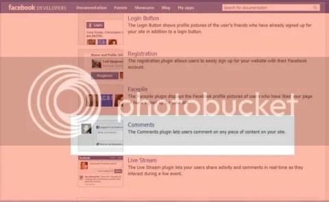 social plugins FB