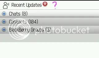 BBM Recent Update Menghilang