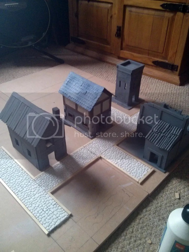 Frostgrave Buildings and ruins