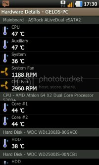 PC monitor android