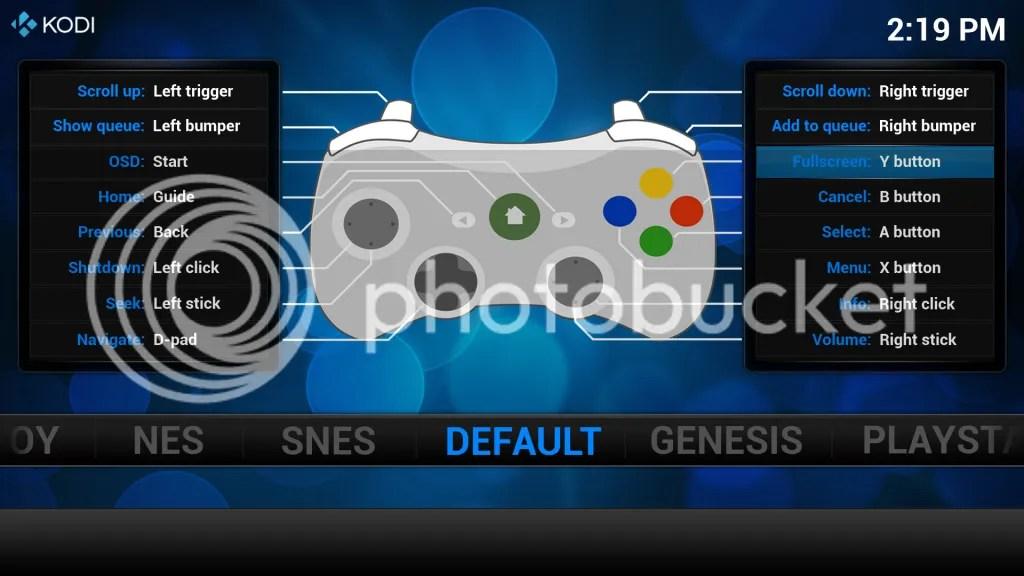 Openelec 5 Kodi Retroarch Xbox Pad Config