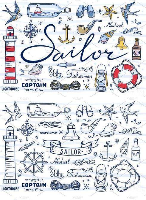 SAILOR ILLUSTRATIONS - 1681495