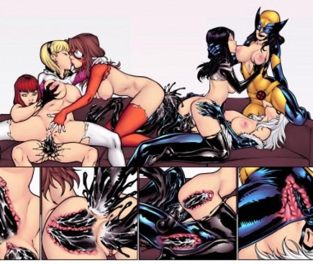 R Ex Spidergirls Spider Man Porn Comic