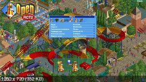 RollerCoaster Tycoon 2 Switch NSP HomeBrew - Switch-xci com