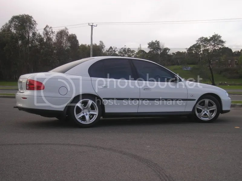 White Vx Wheels Tint Monaro Lights Lowered Just
