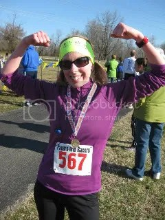 Me after finishing the Hope for the Children 5K - Sam Peden Community Park, New Albany, IN
