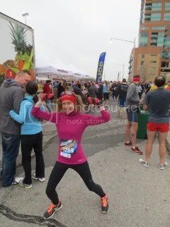 Even though I felt like death, bronchitis didn't keep me from a new PR at the Rodes City Run 10K - Louisville, Kentucky