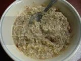 A bowl of Bakery on Main Strawberry Shortcake Flavor Instant Oatmeal