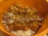 Tasty Bite Channa Masala over jasmine rice