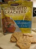 Crunchmaster Gluten-Free Toasted Onion Multi-Seed Crackers