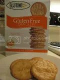 Glutino Cheddar Crackers