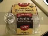 Katz Gluten Free Powdered Donut Holes