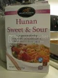 Snapdragon Pan-Asian Cuisine Hunan Sweet & Sour Rice Pasta Stir-Fry