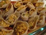 Tinkyáda Brown Rice Grand Shells (stuffed)