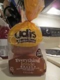 Udi's Gluten-Free Everything Inside Bagels