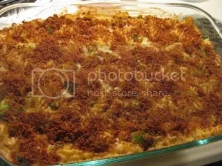 Gluten-Free Mac & Cheese Broccoli Bake
