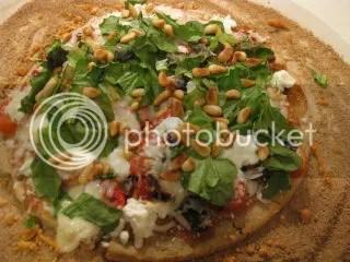 Gluten-Free & Vegan Mediterranean Pizza