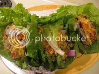Quin-y Bean-y Lettuce Wraps