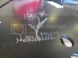 My table art at Picasso's