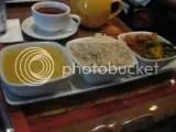 Sanaa's Vegetarian Sampler - Stewed Lentils, Basmati Rice, Vindaloo-style Vegetables