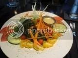 Sidebar's Kale Salad (done gluten-free)