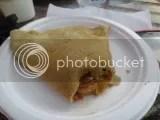 Sweet 'N' Savory Food Truck's Veggie Caponata Crepe