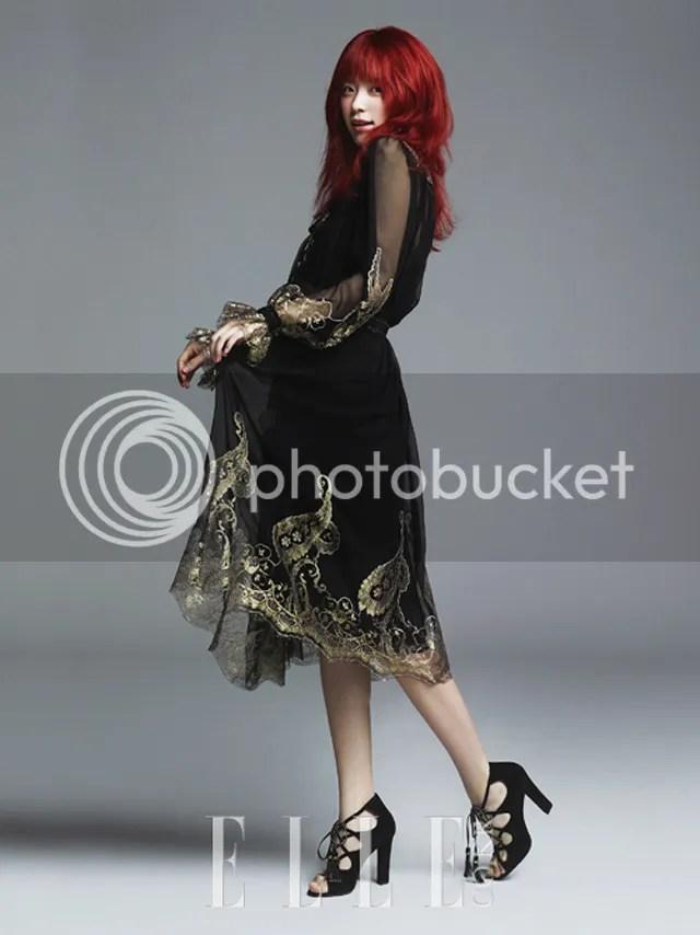 More Of Spicy Redhead Han Hyo Joo Glowing In Elle Koreas