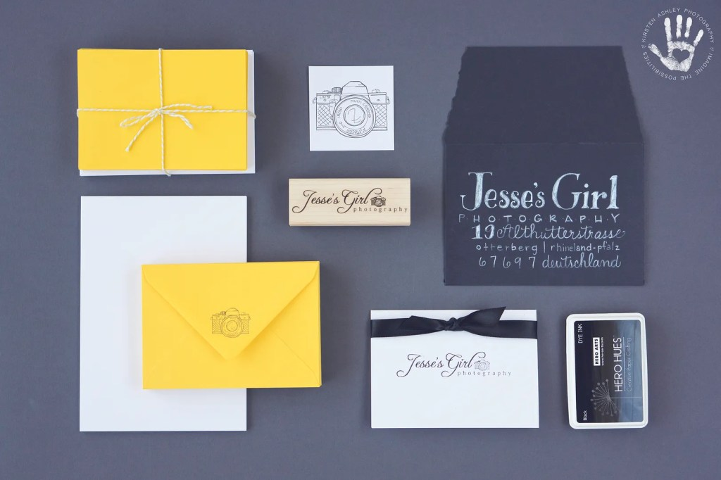 Jesse's Girl Photography Branding by Kirsten Ashley Photography & Design