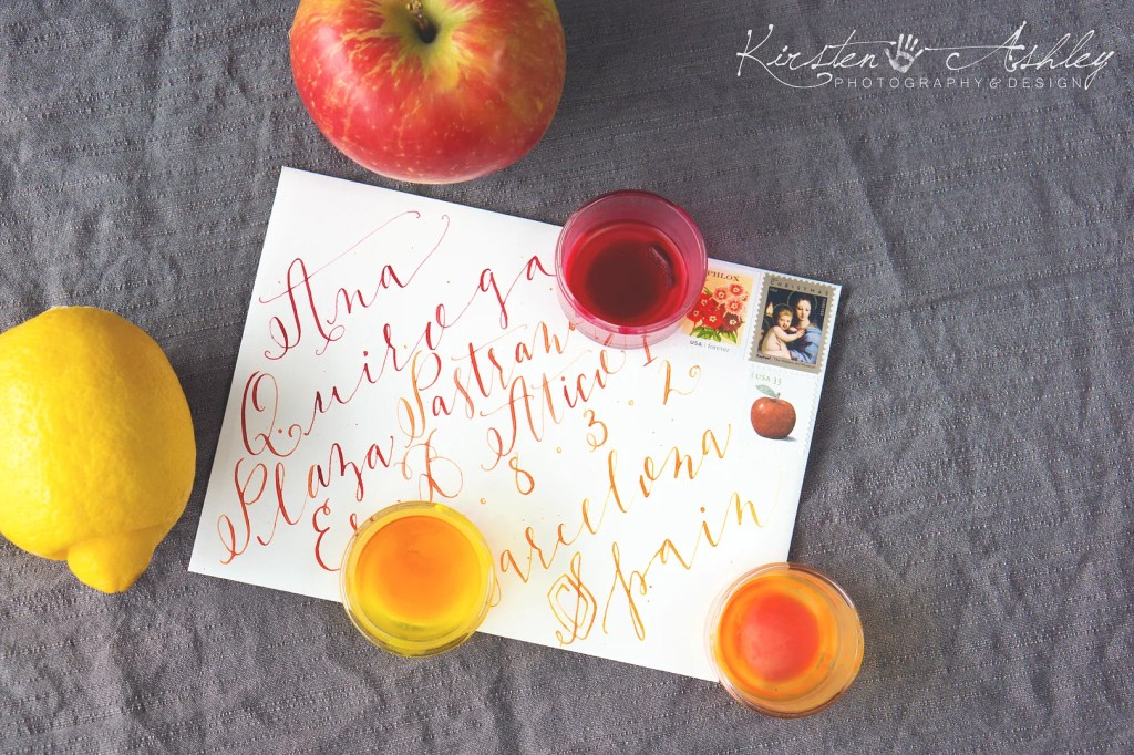 Kirsten Ashley Photography & Design | Custom Calligraphy