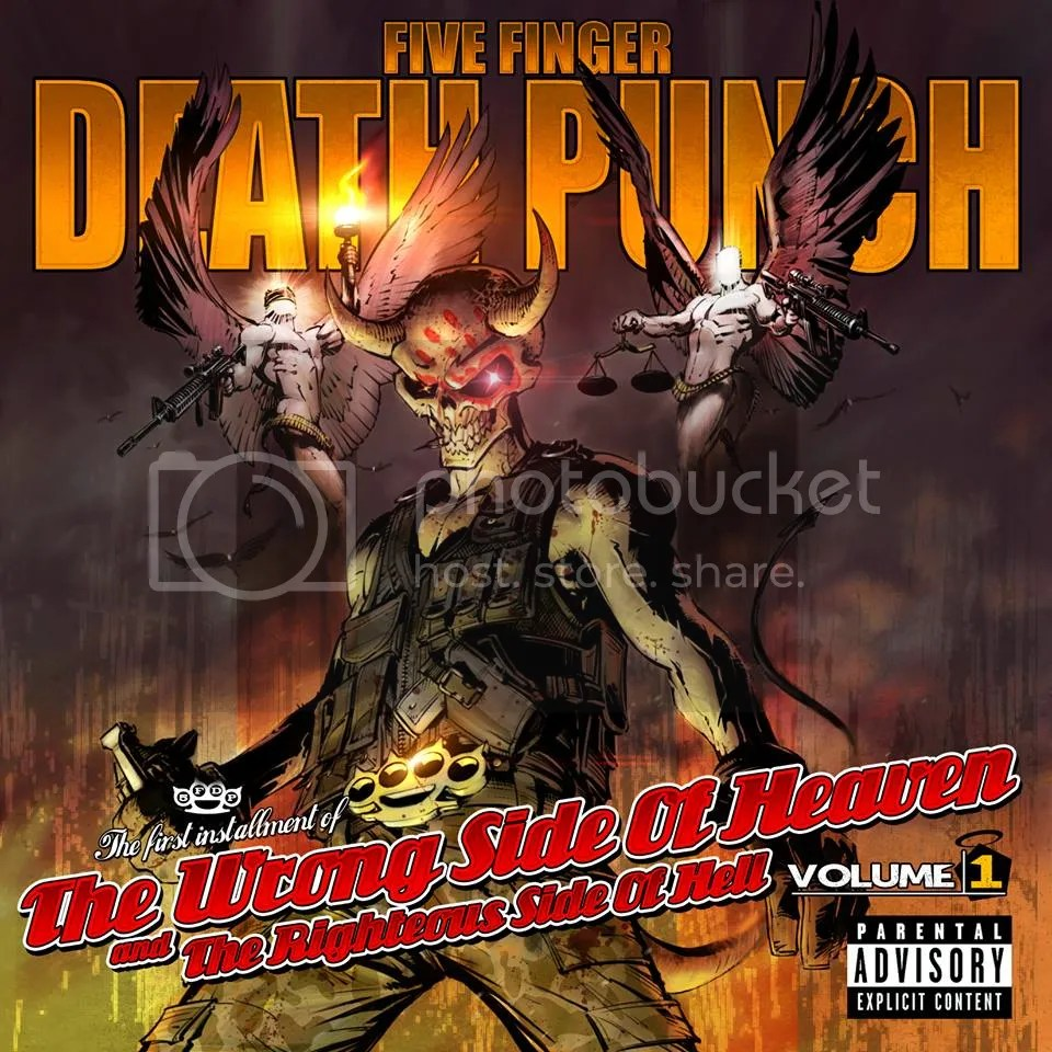 Five Finger Death Punch's Fourth Album Vol.1 - Album Tracklist