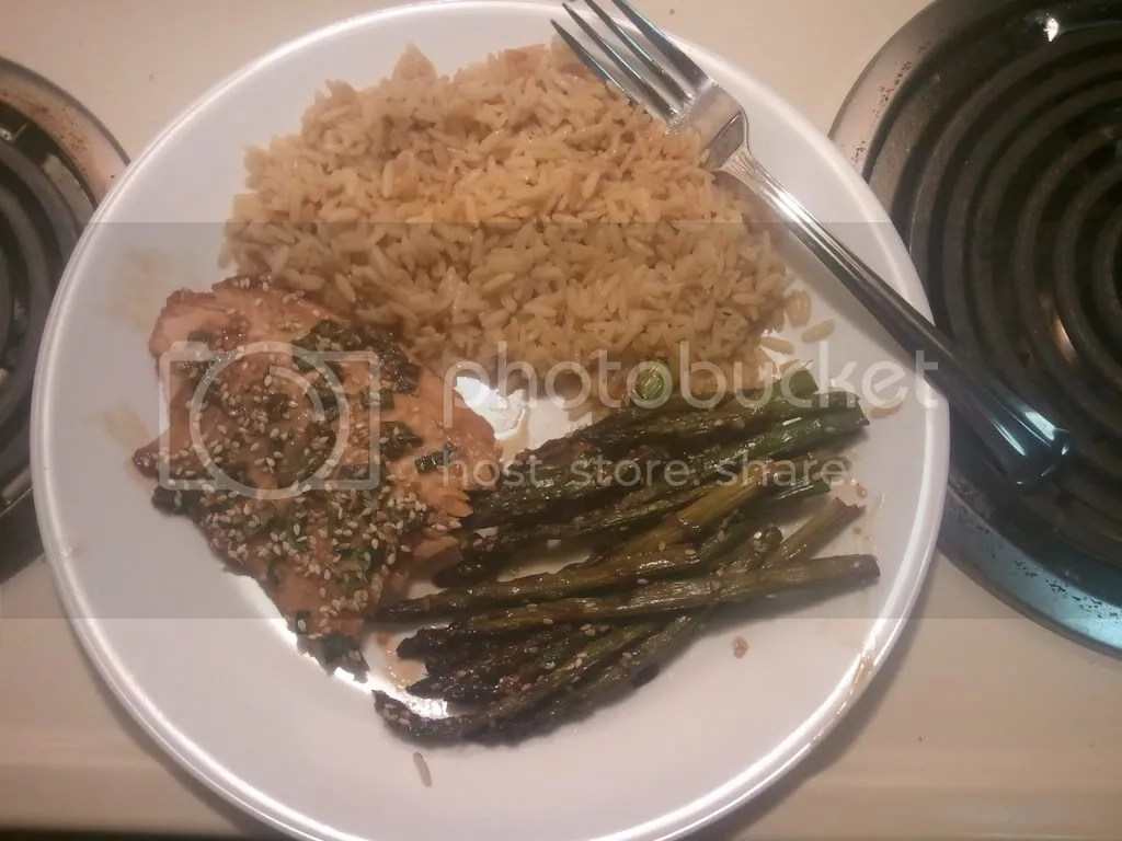 Asian Salmon & Asparagus