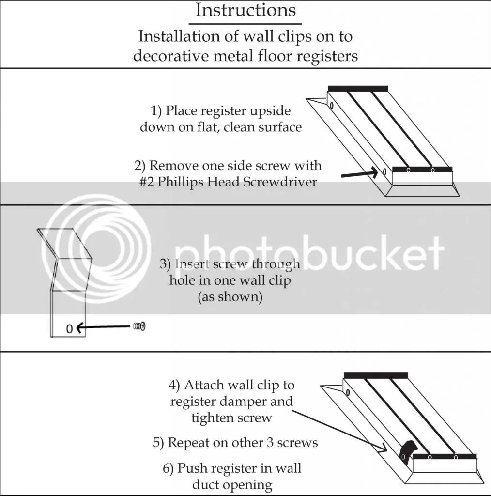 Installerstore - Wall Clip Installation Instructions