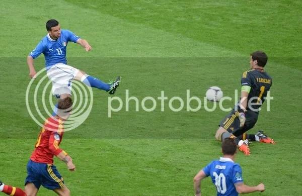 迪纳塔莱攻破卡西把守的球门