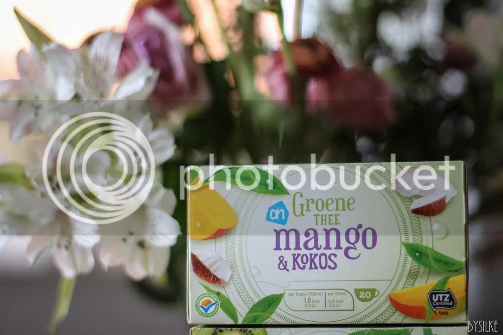 mango kokos albert heijn thee