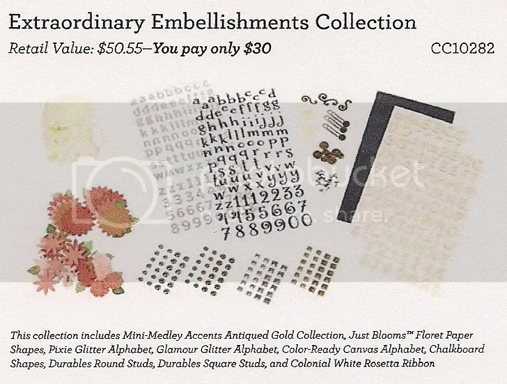 Extraordinary Embellishments Collection - CC10282