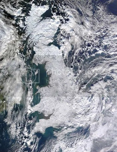 britain,snow,from space
