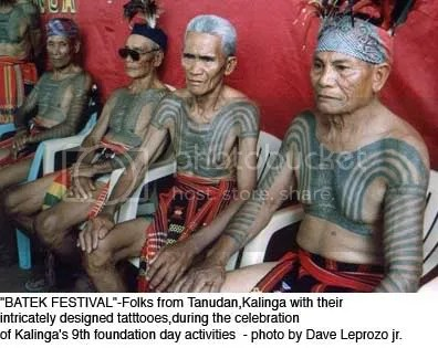 Their tattoos are now chronicles of a unique era in their culture.