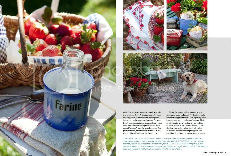 FRENCH COUNTRY STYLE Magazine Features FrenchGardenHouse
