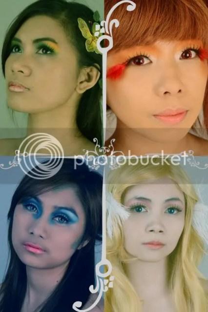 elements photoshoot makeup