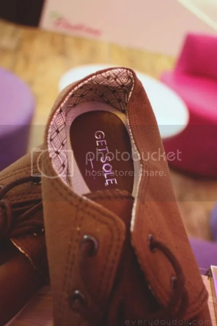 Get Sole Brown Sneakers