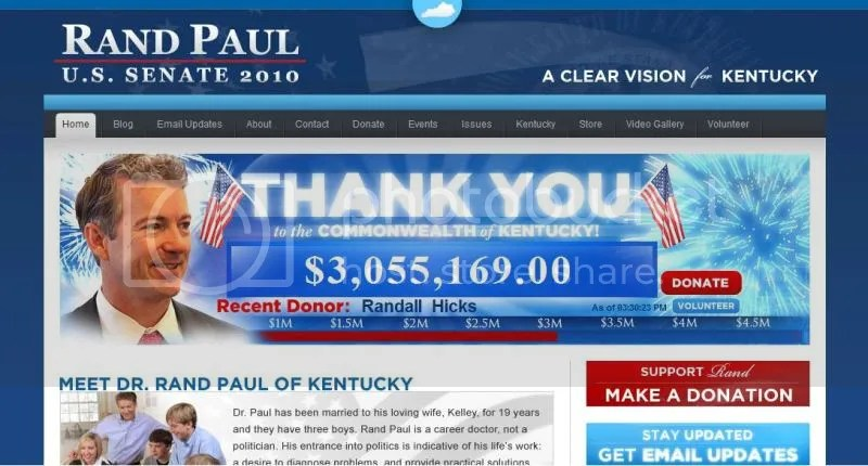 Rand Paul website