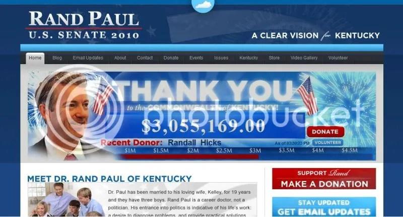 Rand Paul website