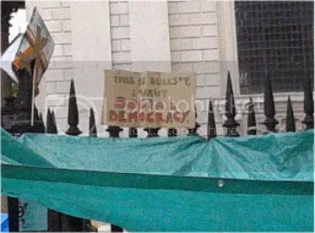 Photo taken at #occupylsx camp, 17/10/11