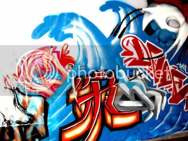Graffiti japones