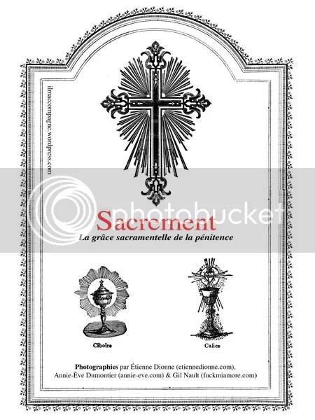 La grâce Sacramentelle de la pénitence'