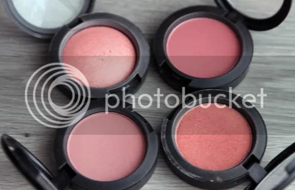 MAC Stash blushes