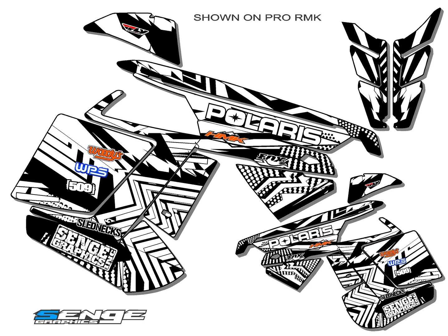 Polaris Pro Rmk Switchback Prormk
