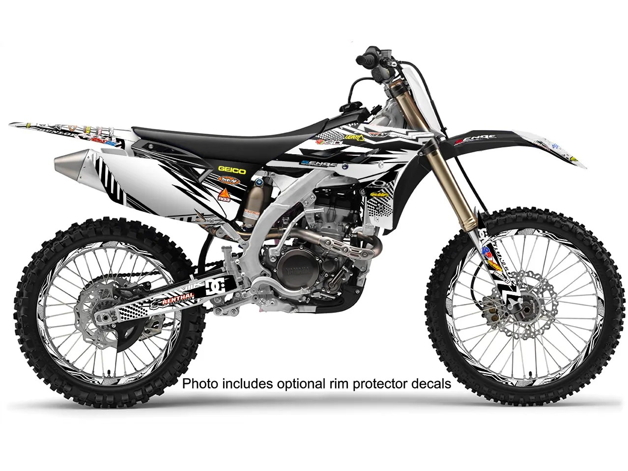 Wr 250 450 Graphics Kit Yamaha Wr250f Wr450f