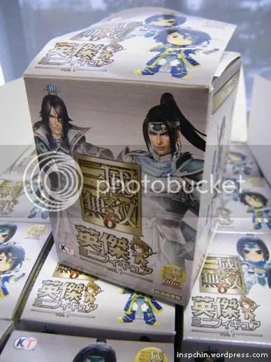 Shin Sangokumusou 6 Figure Merchandise Dynasty Warriors 7 Vol. 1